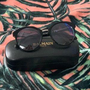 BALMAIN Black Sunnies Sunglasses NEW
